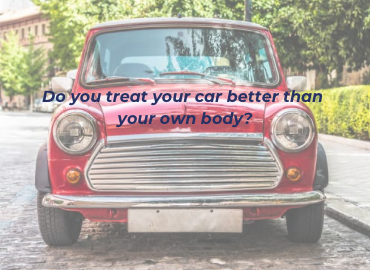 Little red mini - do you treat your car better than your own body